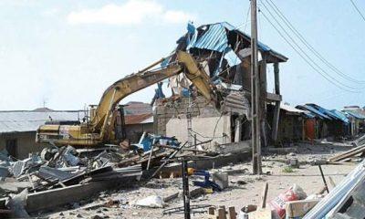 Oyo govt demolishes shops, seals filling station
