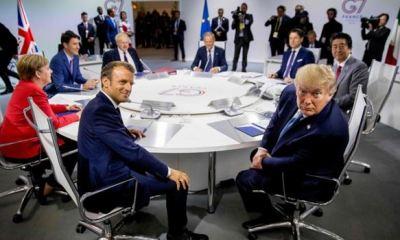 G7 SUMMIT: Trump, Western allies at rift over trade war with China, Iran, N'Korea & Russia