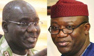 Buratai, Fayemi disagree over security vote