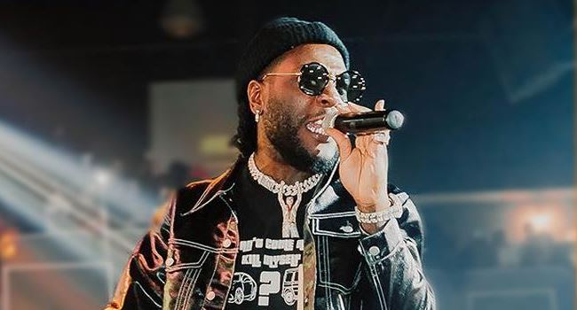 Burna Boy stirs twitter with decision to refund $100 ticket to 'boring fan' for not dancing to his song (Video)