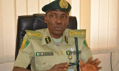 CORRECTIONAL SERVICE: Group tasks Buhari, Aregbesola over Jafaru Ahmed's Illegal stay in office