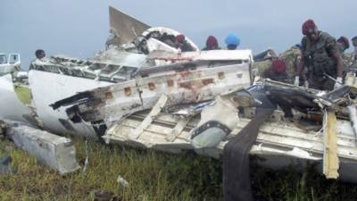 Eight killed in DR Congo's air mishap