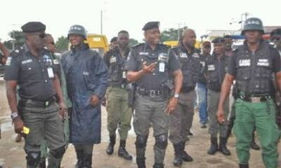 Lagos task force impounds 134 motorcycles for flouting traffic rules