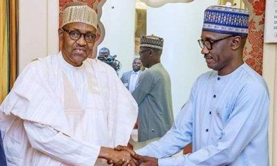 President Buhari meet with Mele Kyari