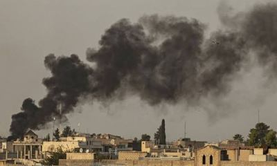 Turkish war planes bombard North-Eastern Syria