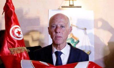 Retired academic emerges as new president of Tunisia in landslide victory