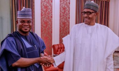 You ran a good race and won well, Buhari commends Bello