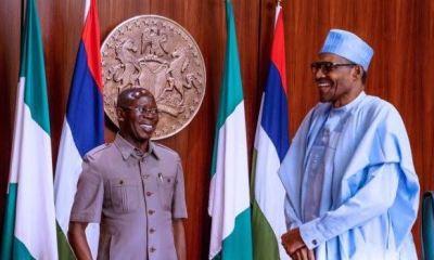 Ahead of NEC and amid internal wrangling, Buhari meets APC caucus