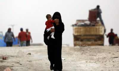 An ISIL mother and her child