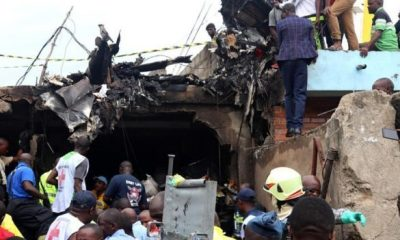 Passenger plane crashes into houses in DR Congo, kills 24 people, injures many