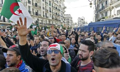 2019 ELECTIONS: Algerians hit the streets in protest