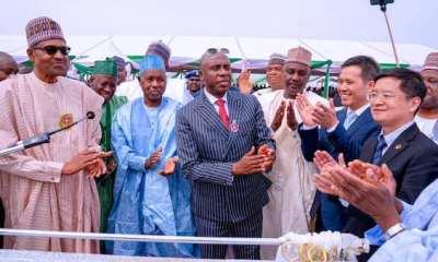 Buhari and Ameachi