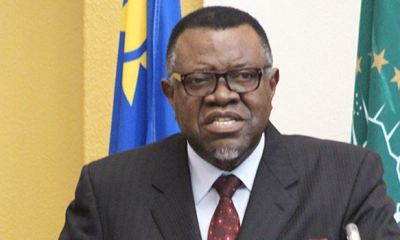 Namibia's President Geingob re-elected amid fears of another year of recession