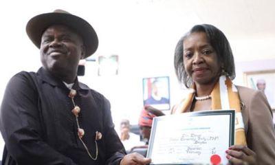 BAYELSA: Diri gets Certificate of Return from INEC