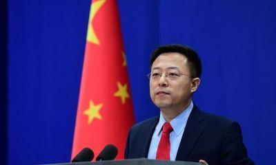 Chinese Foreign Ministry spokesman, Zhao Lijian