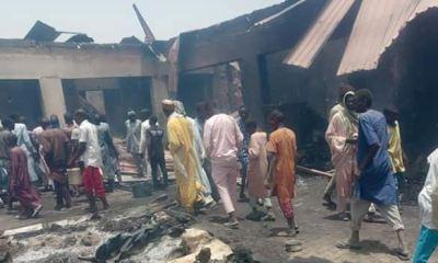 Fire razes IDPs camp in Borno, kills 14, injures many