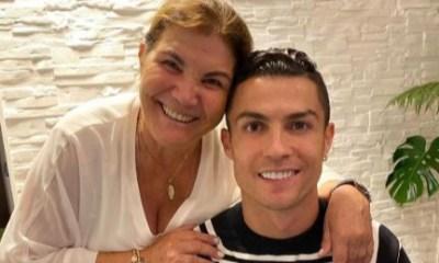 Cristiano Ronaldo and mum