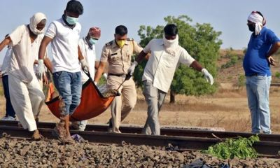 Moving train crushes 14 Indian migrant workers sleeping on track to death