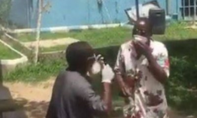 Niger COVID-19 patients protest poor care (Video)
