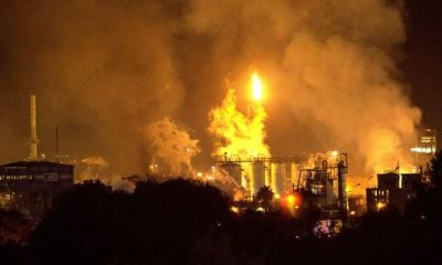Fire guts Italian chemical plant, injures 1