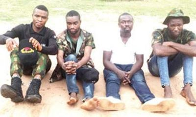 Soldier, Army deserter, others kill undergraduate over N.8m