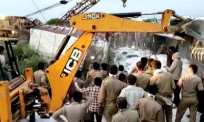 2 trucks collide killing 23 Indian migrant workers