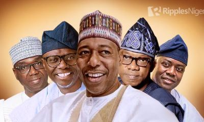 Top 5, Bottom 5; How first term Governors faired in their first year (May, 2020)