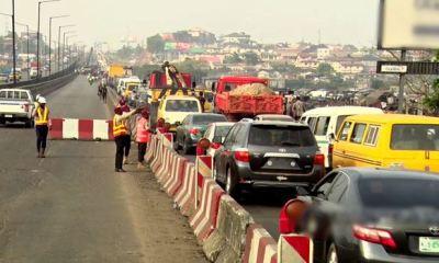 JUST IN... FG closes Kara Bridge on Lagos-Ibadan Expressway