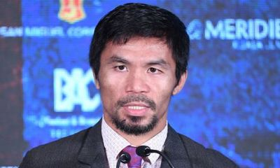 Boxer, Manny Pacquiao to contest for presidency in Philippines