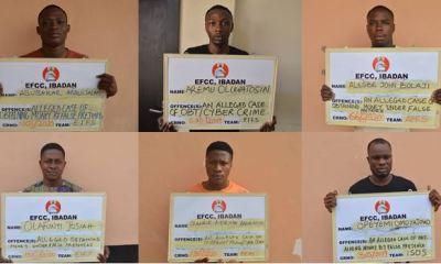 Court jails six 'Yahoo' boys in Ibadan