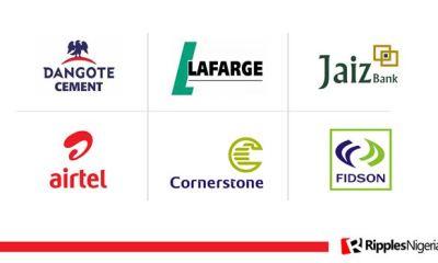 Dangote Cement, Lafarge, Jaiz, Airtel top Ripples Nigeria stocks watchlist