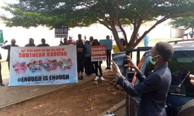 Protesters storm US Embassy over Kaduna killings