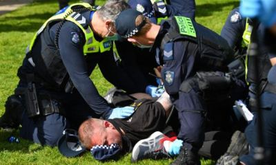 COVID-19: Australian police arrests many at anti-lockdown rallies
