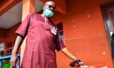 Osagie Ize-Iyamu votes, optimistic of winning
