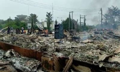 Fire razes SUBEB office in Akure