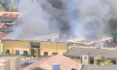 Gunshots, fire reported from Ikoyi prisons