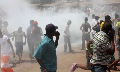 GUINEA: 90 people killed in crackdown over protests against President Conde's third term bid –Opposition group