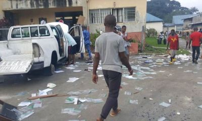 Looters invade UN office in Calabar, vandalise property