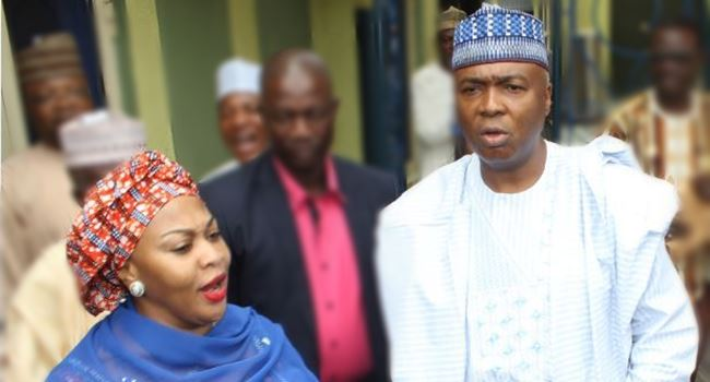 Gbemi and Bukola Saraki reconcile, 9ice begs wife, Nigerians over alleged cheating, PMAN factions united and other gists you don't want to miss