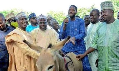 Beneficiary defends Ganduje's aide, Gwarmai, over donkey gift