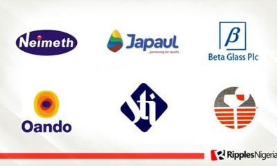 Neimeth, Japaul, Beta Glass top Ripples Nigeria stocks watchlist