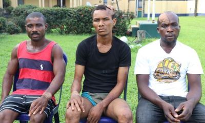 Suspected attackers of Wike father's church paraded, confess to being IPOB members