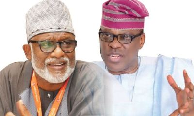 Akeredolu, Jegede trade words over clash of party members at Tribunal