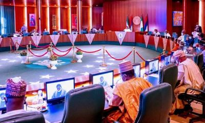 Buhari in closed-door meeting with 36 governors in Aso Rock