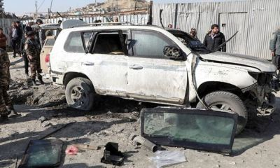 Kabul's deputy governor killed with 'sticky bomb' attached to his car
