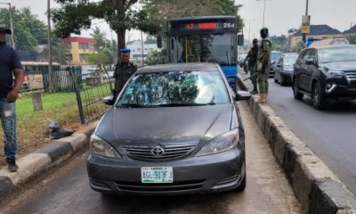 Task force impounds 60 vehicles for violating traffic rules in Lagos