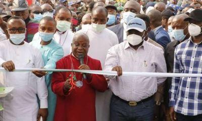 Gov Ikpeazu commissions four roads in Aba