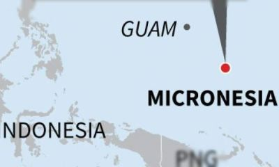 Pacific nation of Micronesia records first Covid-19 case