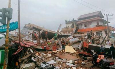 34 feared killed, 600 injured, dozens trapped as 6.2 magnitude earthquake rocks Indonesia