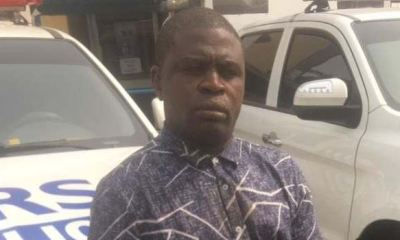 Police arrests pickpocket who allegedly stole 240 mobile phones from Lagos commuters